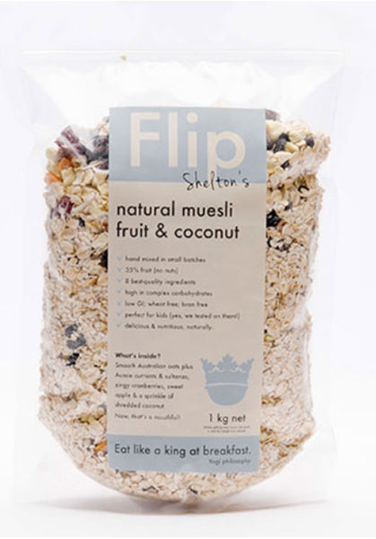 Fruit & Coconut Muesli