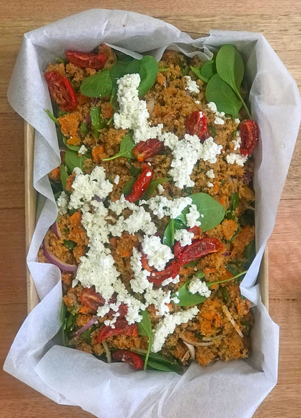 Roast Pumpkin, Quinoa & Feta Salad Box