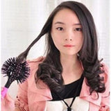 3D round hair comb salon comb