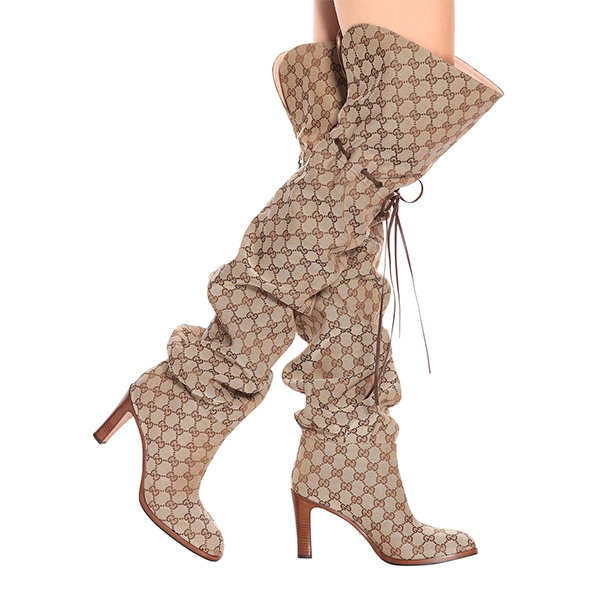 thin High Heel  over the keen  fashion sexy Pointed Toe women boots