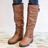 Wide Calf Options Studded Riding Boots