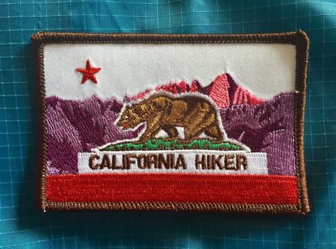 California Hiker Patch