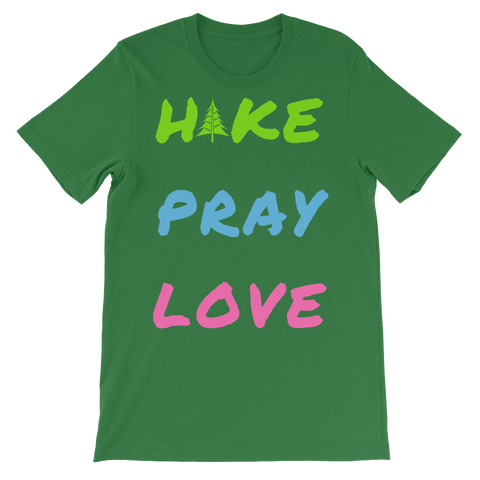 Men's 'Hike Pray Love' tshirt