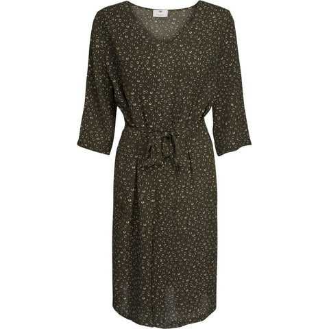 Isabel dress - Deep green