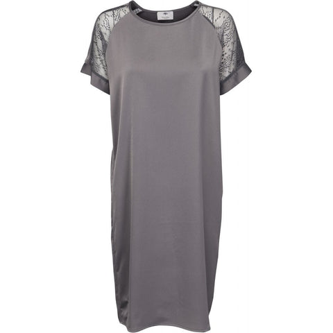 Beatrice dress - dark grey