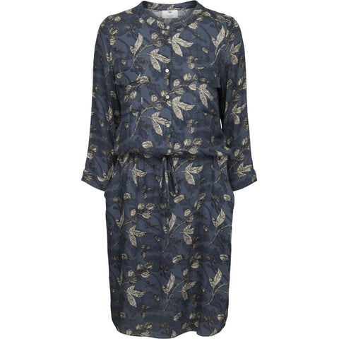 Irena dress - Petrol blue