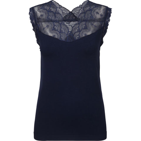 Belina top - Navy