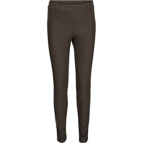 Bella pant slim fit - Dark grey