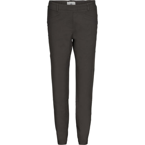 Bella pant straight - Dark grey