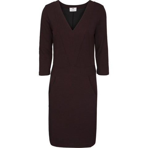Kajsa dress - Bordeaux