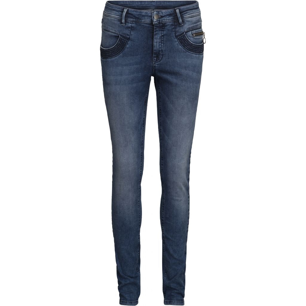 Olivia jeans, slim - Denim