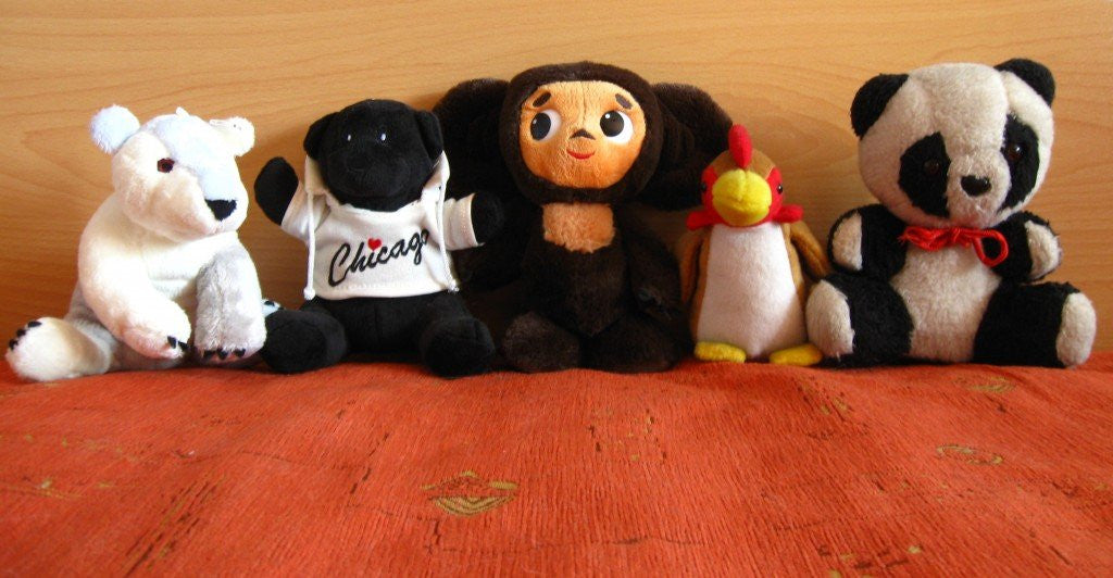 Seven fun facts about stuffed animals