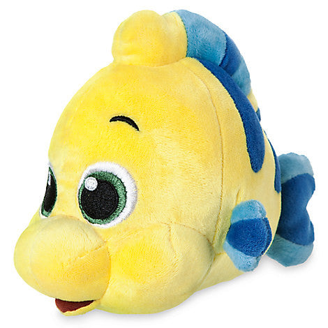 Flounder Plush - The Little Mermaid - Mini Bean Bag - 6 1/2''