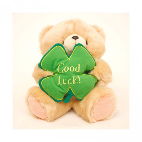 Forever Friends 8 Inch Good Luck Bear