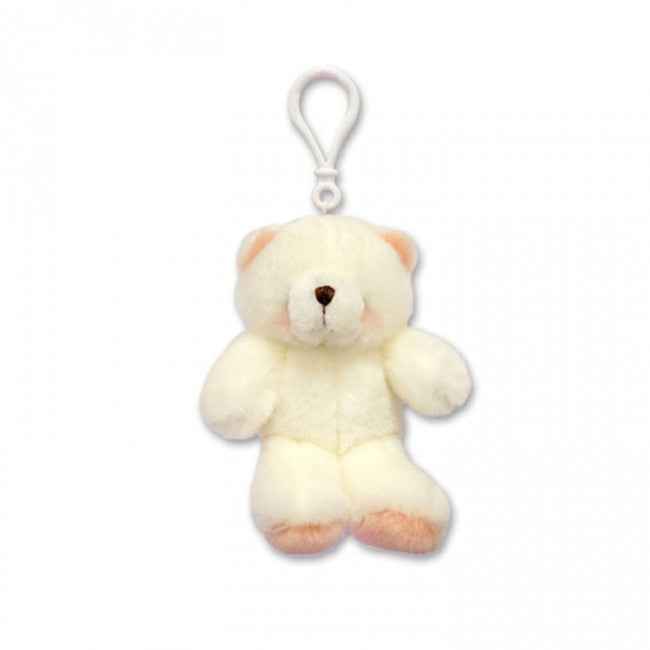 Forever Friends 3.5 Inch White Plush Clip