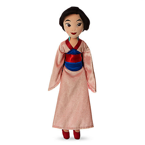 Mulan Plush Doll - Medium - 20 1/2''