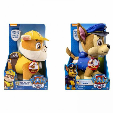 Paw Patrol Talking Plush Deluxe Assorted