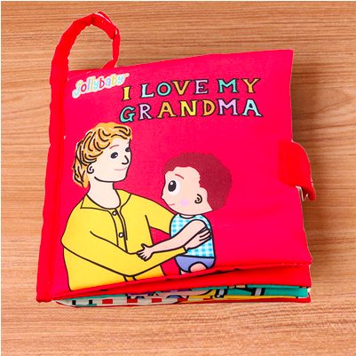 I Love My Grandma Plush Story Book