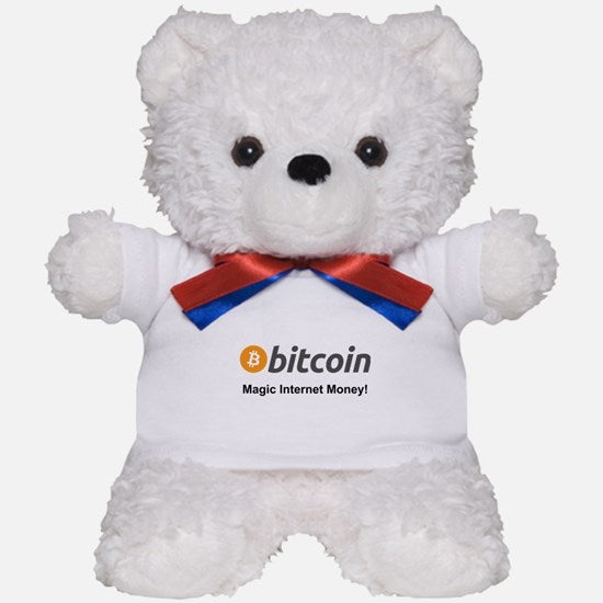 Bitcoin Teddy Bear
