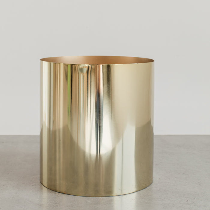 Bucket Vase Brass