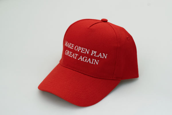 Make Open Plan Great Again Hat