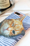 Wink Cat Print IPhone Case