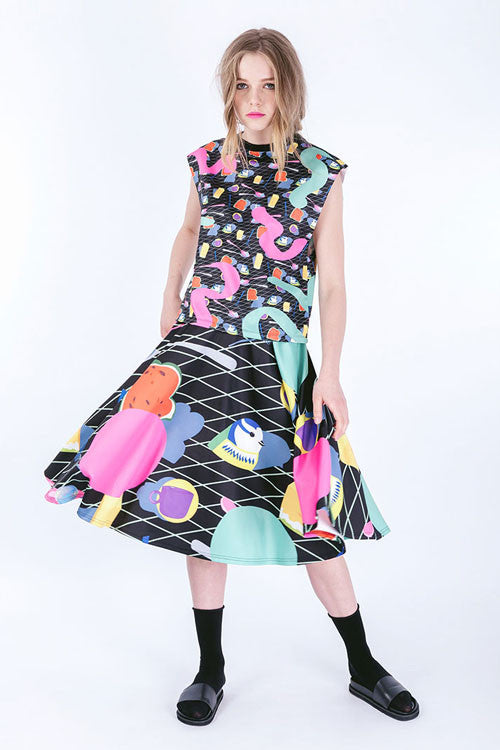 Candy Comic Full Skirt