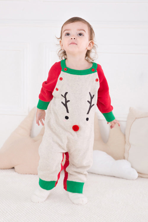 Christmas Animal Cute Baby Romper