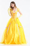 Beauty and Beast Princess Belle Costume Dress