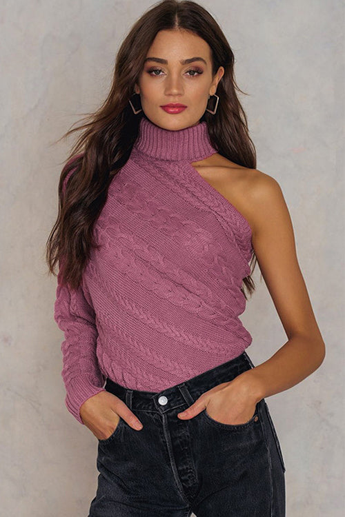 All Eyes on Unique Knit Sweater