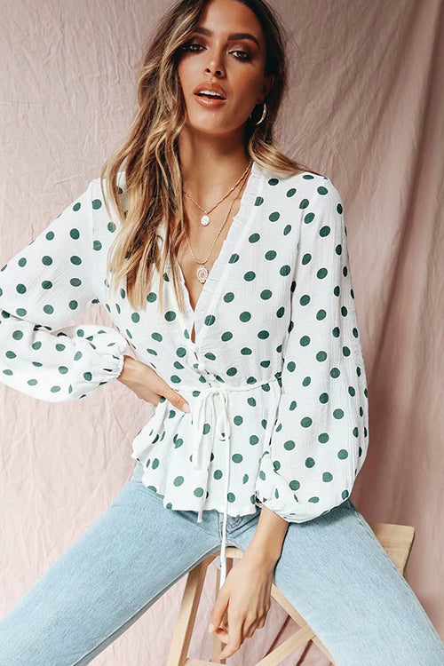 Penthouse Sweet Polka Dot Top
