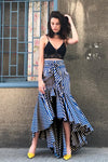 Make Me Move Tie Mermaid Skirt