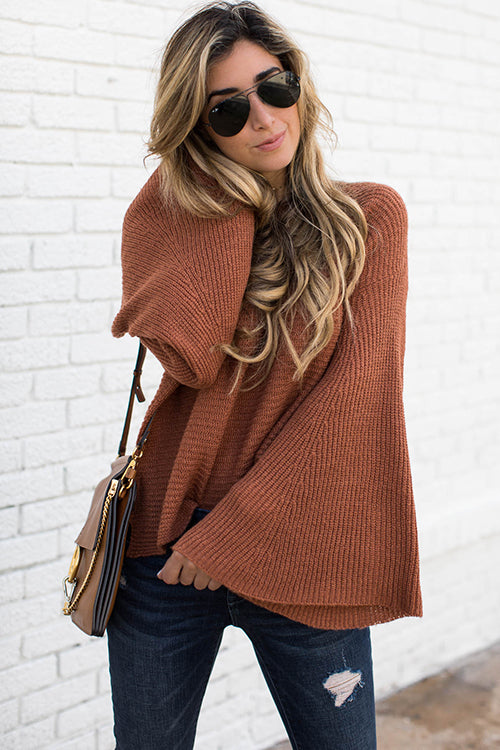 Love Again Bell Sleeve Sweater