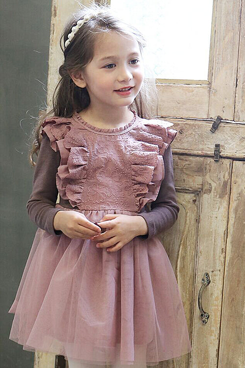 Princess Thicken Long Sleeve Dress