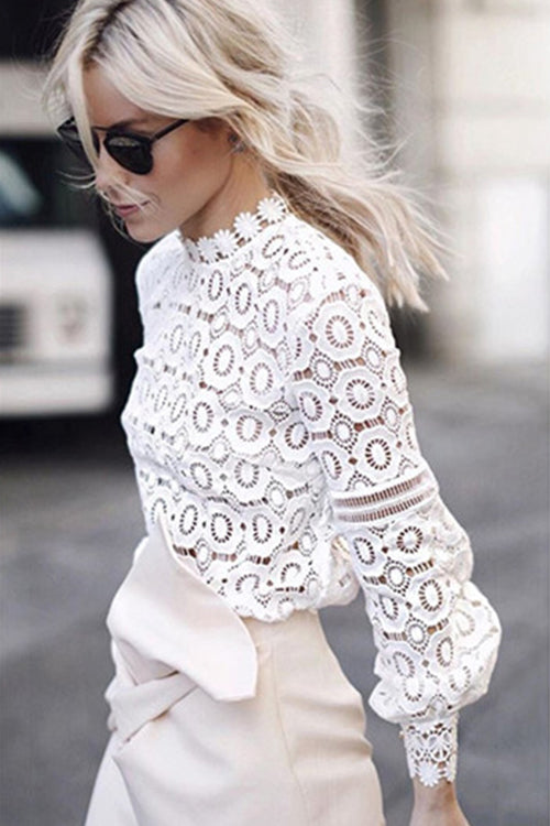 By Your Side Lace Blouse