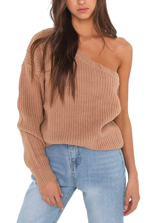 One Sleeve Sweater