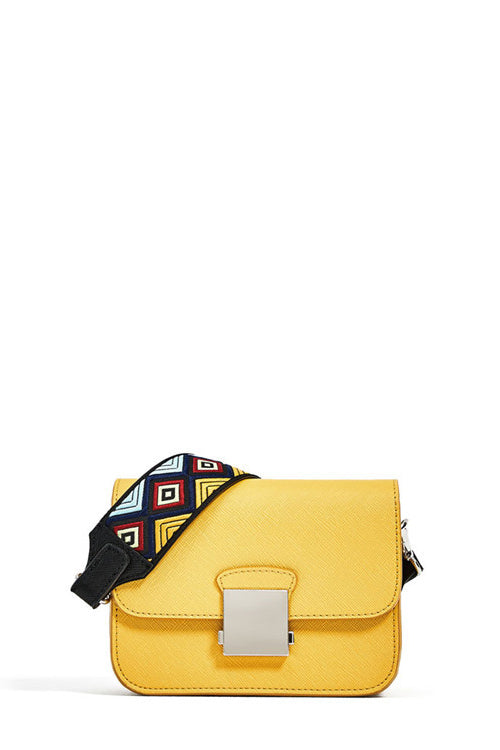 Yellow Crossbody Bag