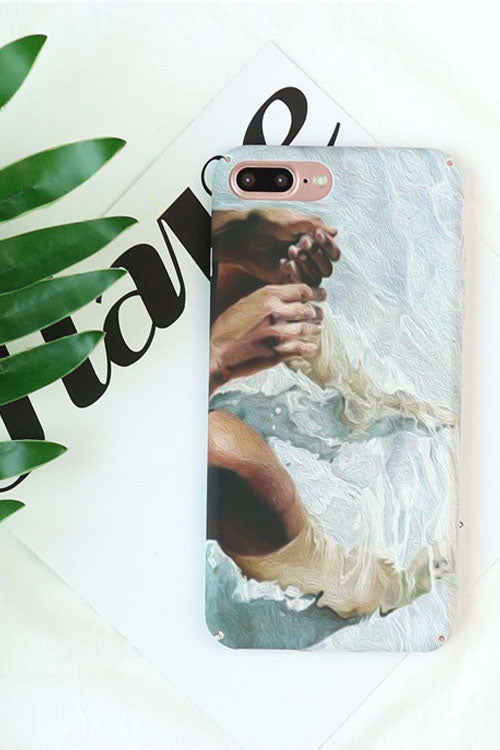 Nordic Style Painting Print IPhone Case