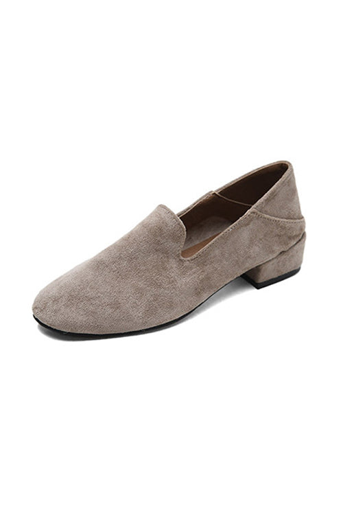 Loafer Low Heel