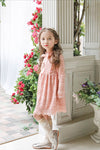 Pink Princess Lace Dress