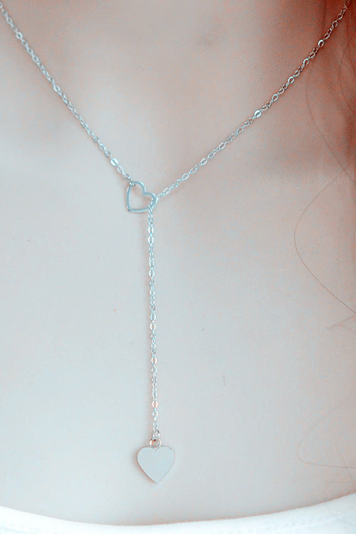 Doule Heart Necklace