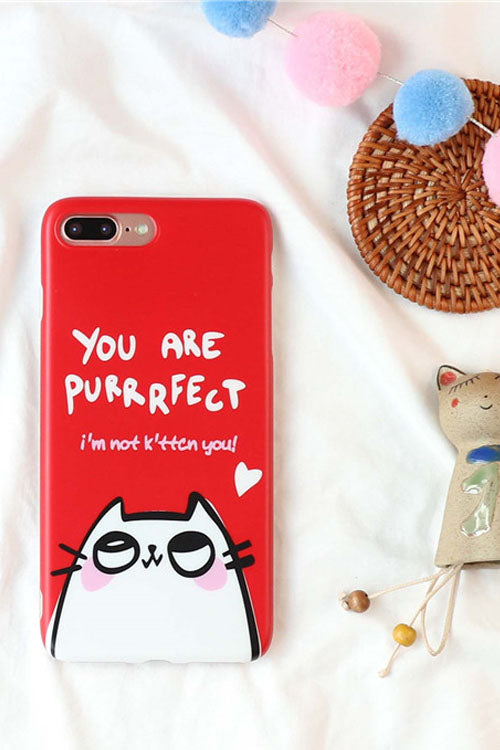 'I'm Not Kitten You' IPhone Case