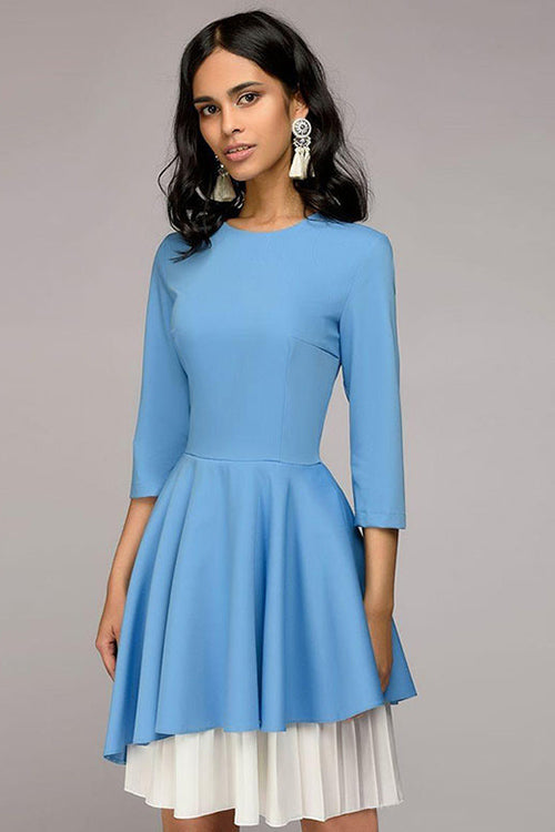 Lost in the Moment Pleated Dress