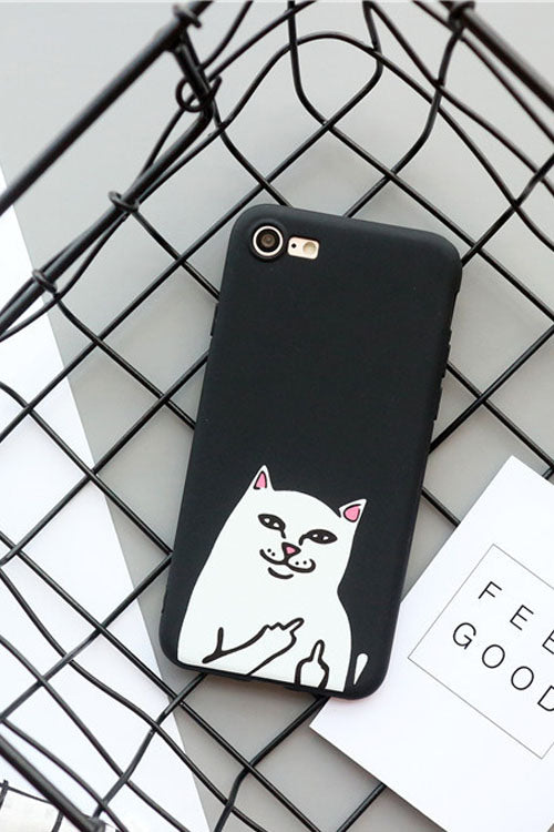 Spoof Cat Print IPhone Case