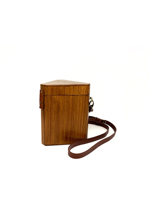 Prism Wooden Shoulder Bag