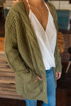 Green Twist Knitwear