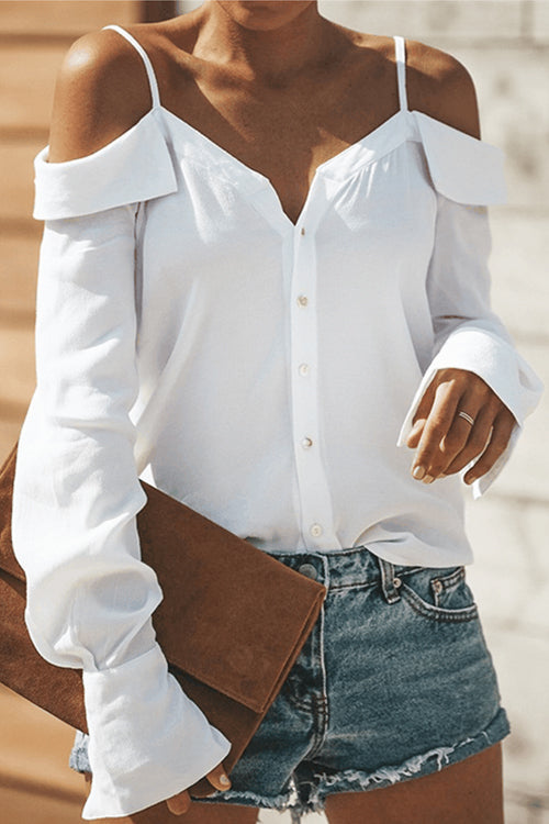 Chic Feeling Button Down Blouse