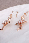 Crystal Ballet Girl Earrings