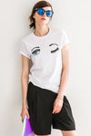 Eye Sequin T-shirt
