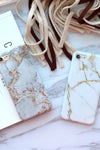 Marble Print Fashion IPhone Case